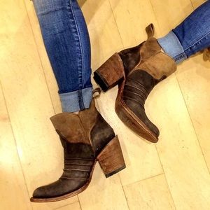 Circle G Genuine Leather Ankle boot